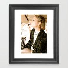 vintage glamour Framed Art Print