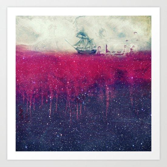 Sailing in dreams II Art Print