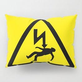 Danger Electricity Pillow Sham