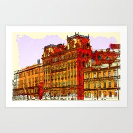 rusbuild Art Print