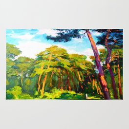 Whisper of pines Rug