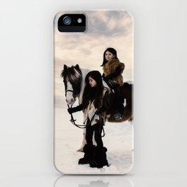 Le voyage des soeurs Koizumi II iPhone Case