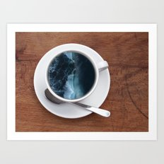 Mourning Morning.  Art Print