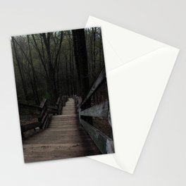 Stairway to Nowhere Stationery Cards