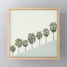 Palm Trees 4 Framed Mini Art Print