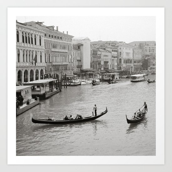 venezia mi amore Art Print