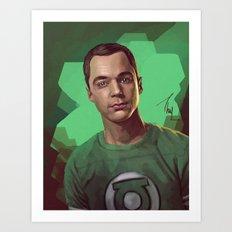 Sheldon Cooper Art Print
