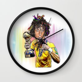 David Luiz Wall Clock