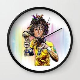 David Luiz Wall Clock