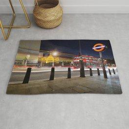 London Street scene.. Rug