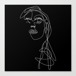 Modern Picasso by Sher Rhie 1 Canvas Print