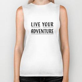 Live Your Adventure Biker Tank