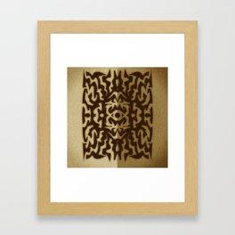 Hayin Framed Art Print