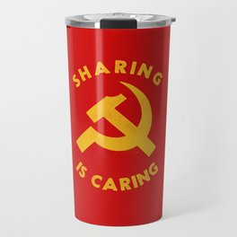 Sharing Is Caring Travel Mug