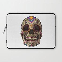 Sugar Skull | Dia De Los Muertos Mexican Holiday Laptop Sleeve