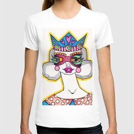 JennyMannoArt Colored Illustration/The Queen T-shirt