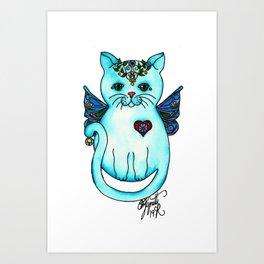 Icon Cats VIII Art Print