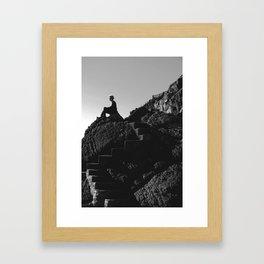 Inhale/Exhale Framed Art Print