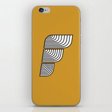 F like F iPhone & iPod Skin