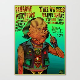 Poster Thee Oh Sees  Canvas Print