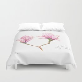 The Magnolia was dripping in gorgeousness Duvet Cover