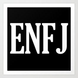 ENFJ Personality Type Art Print