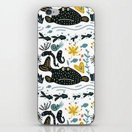 Sea Pattern #2 iPhone Skin