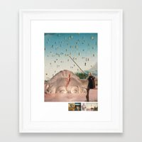 history Framed Art Prints featuring history by Jamie Seaboch / EyeQ Innovations