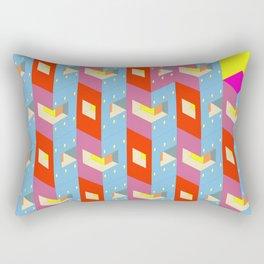 Escher-esque Rectangular Pillow
