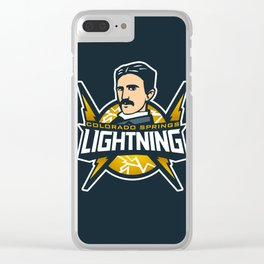 Colorado Springs - Lightning Clear iPhone Case
