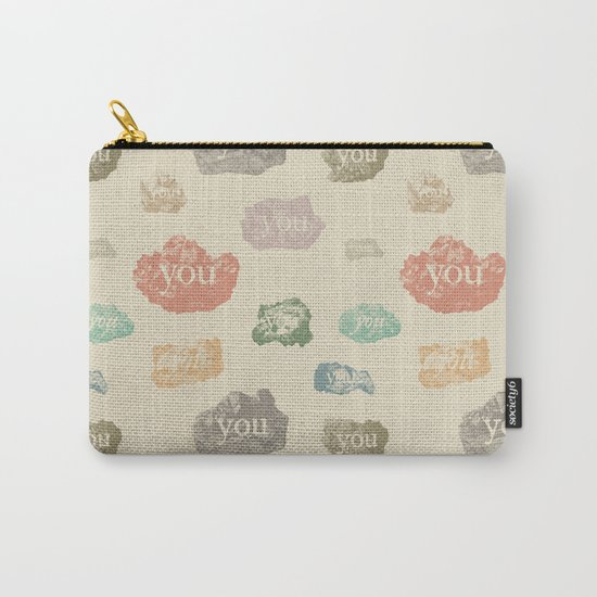 You Rock (Pattern) Carry-All Pouch