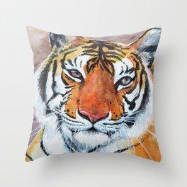 Priya Tigress Throw Pillow