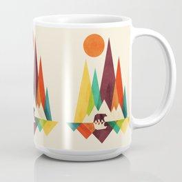 Bear In Whimsical Wild Coffee Mug