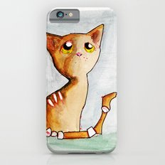 Orange Zombie Kitty Slim Case iPhone 6s