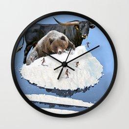 Powder Day Wall Clock