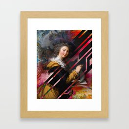 Letter Writer Framed Art Print