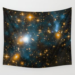 Cosmos 2, when stars collide (enhanced) Wall Tapestry