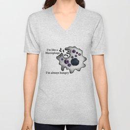 I am a Macrophage Unisex V-Neck