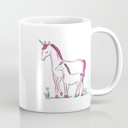 Unicorn Mom Coffee Mug