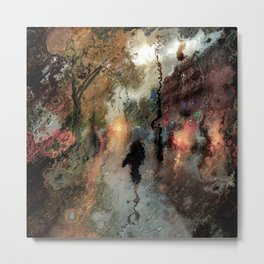 Rainy days Metal Print