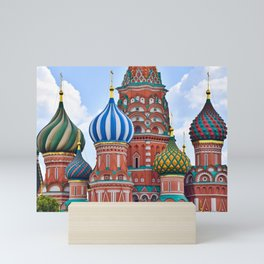 Domes Of St. Basil Mini Art Print