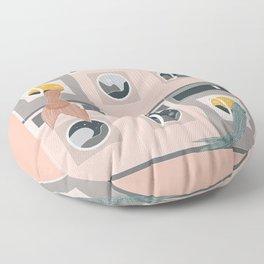 Laundro-mer-mat Floor Pillow
