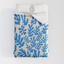 Collage of Leaves, #4- Oceania, by Henri Matisse Duvet Cover