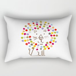 Dandy Lion Rectangular Pillow