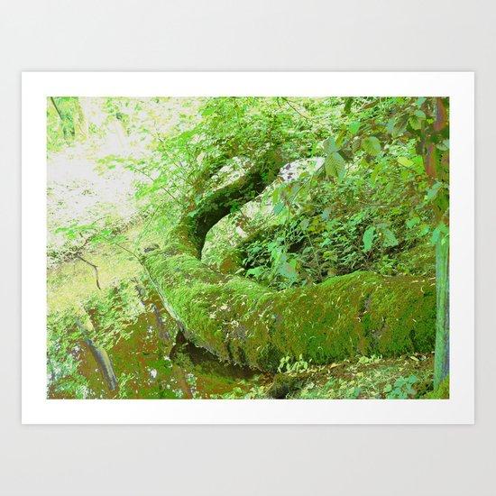 The Tree Snake! Art Print