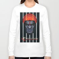 planet of the apes Long Sleeve T-shirts featuring Dawn of the Apes by milanova