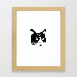 Obey Me Framed Art Print