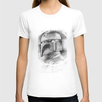 boba fett T-shirts featuring Boba Fett by The Art of Joshua Davis