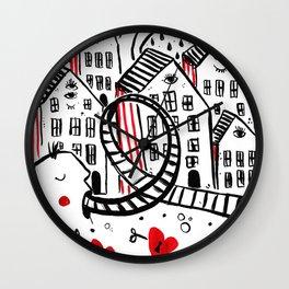 A place called Saudade Wall Clock