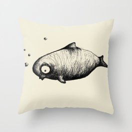 The Dolphin Throw Pillow